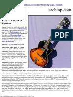 2015 Gibson ES-175D 1959 VOS Reissue