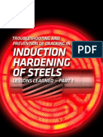 Troubleshooting and Prevention of Cracking in Induction Hardening os Steels - Part 1