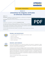 Matematica5 Semana 15 - Dia 1 Angulos Verticales Ccesa007