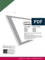 LG Manual TV
