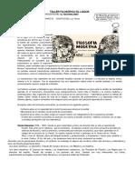 FILOSOFIA 11 GRADO PERIODO TRES 2020