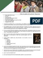 Ficha de análisis de la película Mujercitas