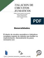 INSTALACIÓN DE CIRCUITOS NEUMÁTICOS Presentación