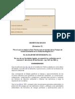 Decreto 542 de 2015 Guía Control ambiental