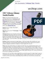 1967 Gibson Johnny Smith Double