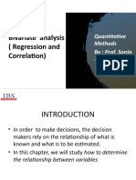 correlation and regression PPT