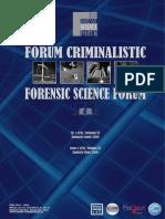 Forum Criminalistic Issue 1 2016