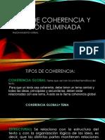 TIPOS DE COHERENCIA