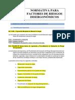 Clase 4 - Normativa de Riesgos Disergonòmicos y Psicosociales
