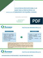 PPT Procedimiento Autorización Excepcional para prestación ss