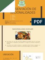 Nacionalidades Achuar, Chibuleo, Awa y Kañari  (1)