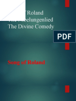 World Literature - Song of Roland etc