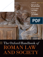 Oxford Handbook on Roman Law