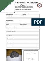 Ficha de Descripcion de Minerales 3