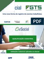 Apresentação Sala Especial eSocial - CAIXA