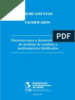 Medicamentos Falsificados diretrizes
