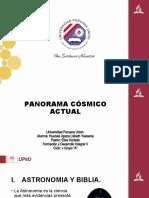 Panorama Cosmico Actual 4