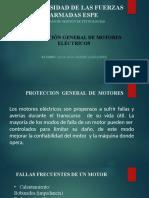 PROTECCION GENERAL Y FALLAS DE MOTORES