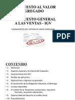 IGV CONTROL DEL IMPUESTO  2016