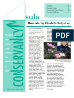 2007 Summer Great Peninsula Conservancy Newsletter