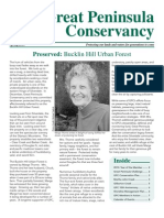 Spring 2009 Great Peninsula Conservancy Newsletter