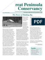 2009 Summer Great Peninsula Conservancy Newsletter