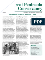2010 Fall Great Peninsula Conservancy Newsletter