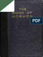 The Book of Mormon, 1921