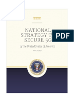 National Strategy to Secure 5G - March 2020 White House