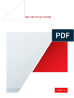Oracle PaaS and IaaS Public Cloud Services Pillar Document - April 2020