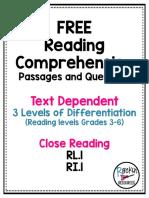 ReadingComprehensionPassagesandQuestionsFreeforInference