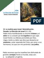 3a. La Reivindicación - Elección de Israel-23s