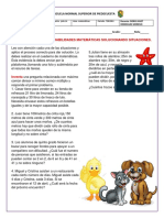 PROBLEMAS DE MCD O MCM 3 PERIODO