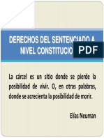 DERECHOS DEL SENTENCIADO