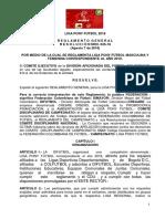 REGLAMENTO LIGA PONY FUTBOL - DIFUTBOL 2018 BORRADOR FINAL.pdf