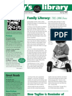Spring 2006 Today's Library Newsletter, Timberland Regional Library