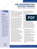 Doe Air Distribution System Design