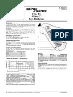 Filtro Y spiraxsarco FIG14 - RO AC