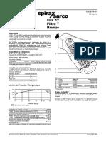 Filtro Y spiraxsarco FIG14 - RO BR
