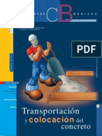 07 TRANSPORTACION Y COLOCACION EN OBRA