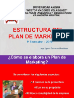 15.ESTRUCTURA DEL PLAN DE MARKETING