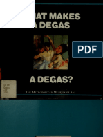 What makes a Degas a Degas (Art Ebook)