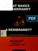 What makes a Rembrandt a Rembrandt (Art Ebook)