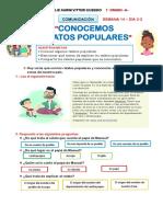 CONOCEMOS RELATOS POPULARES SEM 14- D 3-2 COM