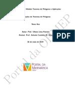 Aplicações teorema de pitágoras