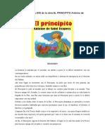 RESUMEN Y ANALISIS de la obra EL PRINCIPITO Antoine de Saint Exupery.docx
