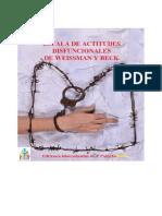 Escala de Actitudes Disfuncionales de Weissman y Beck