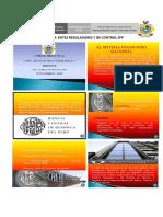 Entes de Control Sistema Financiero