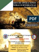 DIAPOSITIVAS, TRABAJO MINERIA SUBTERRÁNEA- NORMATIVA.pptx