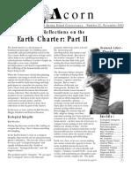 Fall 2002  Acorn Newsletter - Salt Spring Island Conservancy